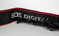 Canon EOS Digital Camera Strap Black / Red *NEW*