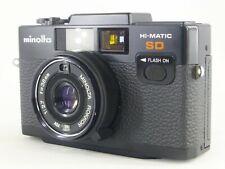 *Near Mint / Works *Minolta Hi-Matic SD Point & Shoot Film Camera from JAPAN
