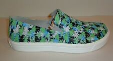 Crocs Size 11 CITILANE ROKA TROPICAL Electric Blue White Loafers New Mens Shoes