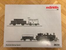 Märklin 26731 - Bayerischer Güterzug / Epoche 1 *OVP*