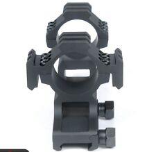 Tactical (Black 30mm) Dual Tri-Rail Cantilever Ring Scope Mount PEPR