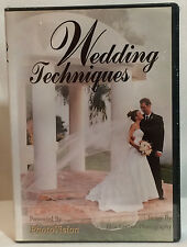 Wedding Techniques (6 Tutorial DVDs / 12 Hours)--NEW, FACTORY SEALED!!