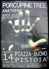 PORCUPINE TREE Piazza Duomo PISTOIA 2010 CONCERT POSTER Steven Wilson PROG Italy