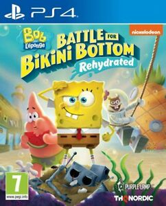SpongeBob Squarepants Battle For Bikini Bottom Rehydrated PS4 PLAYSTATION - NEW
