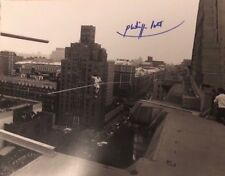 Philippe Petit signed autographed 8x10 Photo Extremely rare Man on Wire