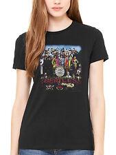 Official The Beatles Sgt Pepper Women's T-Shirt Lennon McCartney Ringo