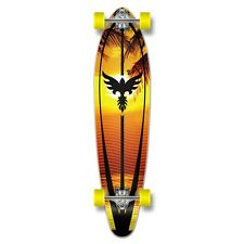 Yocaher Complete Sunset Kicktail Longboard