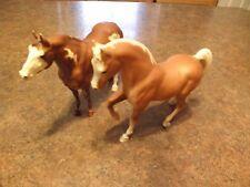 VINTAGE BREYER HORSES.LOT OF TWO. BREYER MOLDING CO.USA