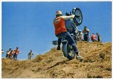 MOTOCICLISMO Motocross anni '70 caduta 2 NV perfetta moto scrambler gilera guzzi