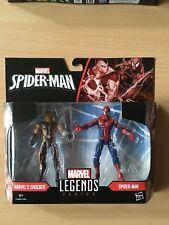 Action Figure Marvel Legends RITORNO A CASA L'Uomo Ragno SHOCKER Twin Pack HASBRO