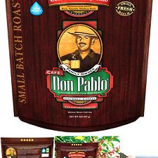 New listing 2Lb Don Pablo Colombian Supremo - Medium-Dark Roast - Whole Bean Coffee - Low.