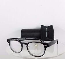 Brand New Authentic Barton Perreira Eyeglasses TDG Dempsey Black Grey 49mm