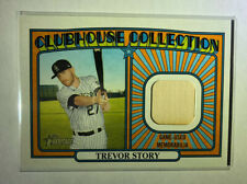TREVOR STORY 2021 TOPPS HERITAGE CLUBHOUSE COLLECTION GAME-USED BAT RELIC