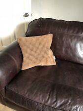 Cushion Made From 1990s Virgin Trains Seat Moquette Fabric