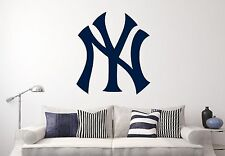 New York Yankees MLB Wall Decal Sports Baseball Sticker Vinyl Decor