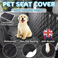 Car Rear Back Seat Cover Dog Cat Pets Waterproof Protector Hammock Washable Uky5
