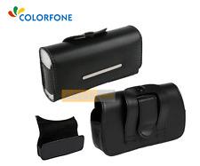 Etui Pochette Horizontal  BLACK HOLDER Noir compatible NOKIA E63 - e 63