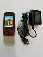 Cricket Wireless H20 At&t Black EasyGo Basic Flip Slider 3G GSM Sim Cell Phone