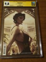 CGC SS 9.8 Catwoman #3 Artgerm Variant cover signed by Stanley Artgerm Lau
