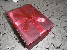 NICE RED RIBBON STORAGE BOX 14 X 18 X 11 CM