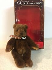 "9"" Gund 1995 Collector's Bear Brown Bear"