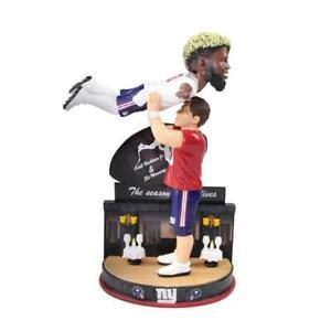 New York Giants Eli Manning and Odell Beckham Dancing Bobblehead NFL