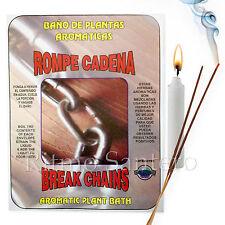 Spiritual Plant Bath BREAK CHAINS-ROMPE CADENA Bano Despojo Limpia Santeria Wash