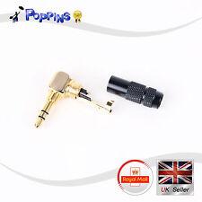 3.5mm Enchufe Macho conector para auriculares de Reparación Soldadura De Audio De Metal