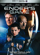 Ender's Game (DVD, 2014) BRAND NEW with Slip Cover
