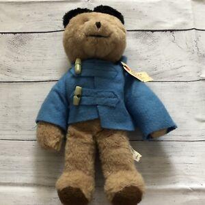"""Vintage Eden Toys 1975 Original Paddington Bear Plush Stuffed Toy 14"""""""