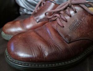 Camel Active Puszta Brown Leather shoes UK 8 EUR 42 US 9