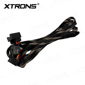 XTRONS Extension 6M Long Cable ISO Wiring Harness Adapter for BMW E39 E46 E53