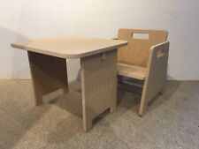 DIY Large Child / Infant Table & Chair Personalisable with ANY Text! Present!