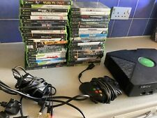 original old Xbox console & 45 games like crystal not 360 joblot