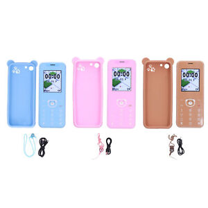 1.77in Smartphone 2G GSM1800 Dual Card Mobile Phone 32MB Camera Blue Pink Brown