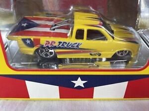 2000 Hot Wheels Yellow Puerto Rico Chevy Race Truck VHTF Special Edition Sealed