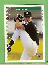 1995 AUSTRALIAN BASEBALL CARD #43  KOREY  KELING, EAST COAST COUGARS