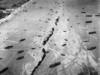 6x4 Gloss Photo ww85B Normandy D-Day Omaha Beach Mulberry 15 June 1944
