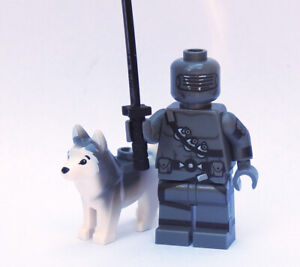 Custom GI Joe Comic Snake Eyes minifigures Cobra on lego brand bricks