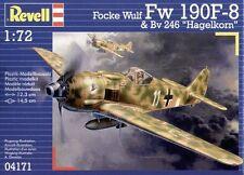 Revell 1/72 focke wulf fw 190 F-8 et bv 246 Hagelkorn # 04171