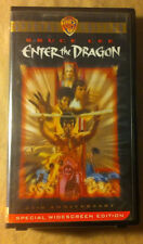 ENTER THE DRAGON SPECIAL EDITION VHS 25TH ANNIVERSARY EDITION