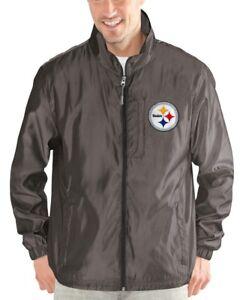 """Pittsburgh Steelers NFL G-III """"Executive"""" Full Zip Premium Men's Jacket"""
