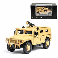 1:32 Russian Tiger-M Military Armored Vehicle Model Car Diecast Toy Kids Yellow