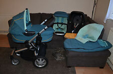 Full Travel System Quinny Buzz 4, 3in1 inc Maxi Cosi Pebble Car Seat