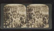 DOUBLEDAY PAGE STEREOVIEW Russia Japan War - Lieut Susuki Funeral Procession