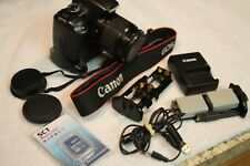 Canon Rebel XSi 450D Camera with Canon Battery Grip and Canon Lens