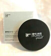IT Cosmetics BYE BYE PORES Translucent PRESSED Powder Veil Mattifying 0.31oz 9g