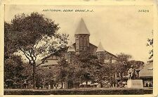 c1910 Printed Postcard; Old Auditorium, Ocean Grove NJ Monmouth County, Posted
