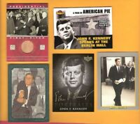 JOHN F KENNEDY JFK Grifiith Stadium Seat RELIC CARD +REMNANT FROM BERLIN WALL +3