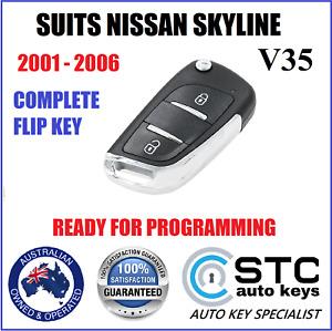 SUITS NISSAN SKYLINE V35 2001 2002 2003 2004 2005 2006 CAR REMOTE FLIP KEY